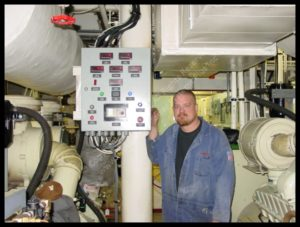 We offer marine generator installation and servicing. We specialize in Kohler marine generators.