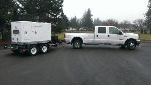 MQ EGS500C Studio Generator with Truck Tow