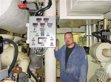 kohler marine generator installation