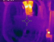 Generator & Electronics Thermographic Scanning