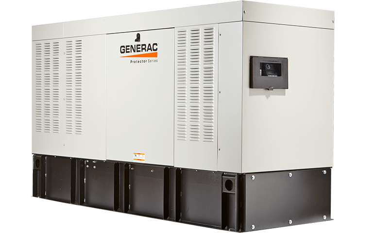 Generac 15kw 50kw protector series diesel home standby generators power systems plus inc - Choosing a gasoline powered generator ...