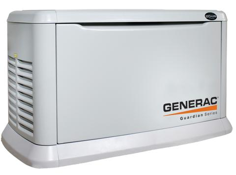 Generac 7039 Guardian Series 20kw Generator Natural Gas Or Propane
