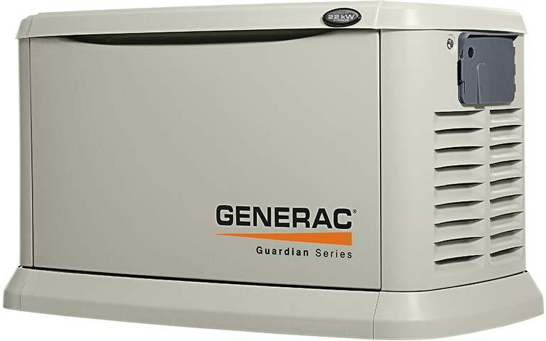 Generac 7043 Guardian Series 22kw Generator Natural Gas Or