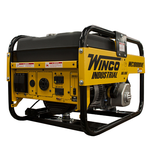 Winco Industrial Series Wc10000ve Portable Generator