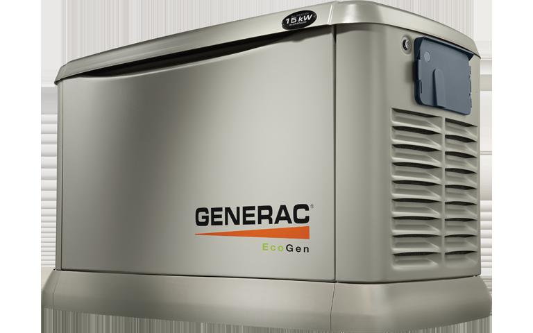 generac generators png. Generac 7034 EcoGen Series 15kW LP Air-Cooled Liquid Propane Generator Aluminum Enclosure Generators Png E