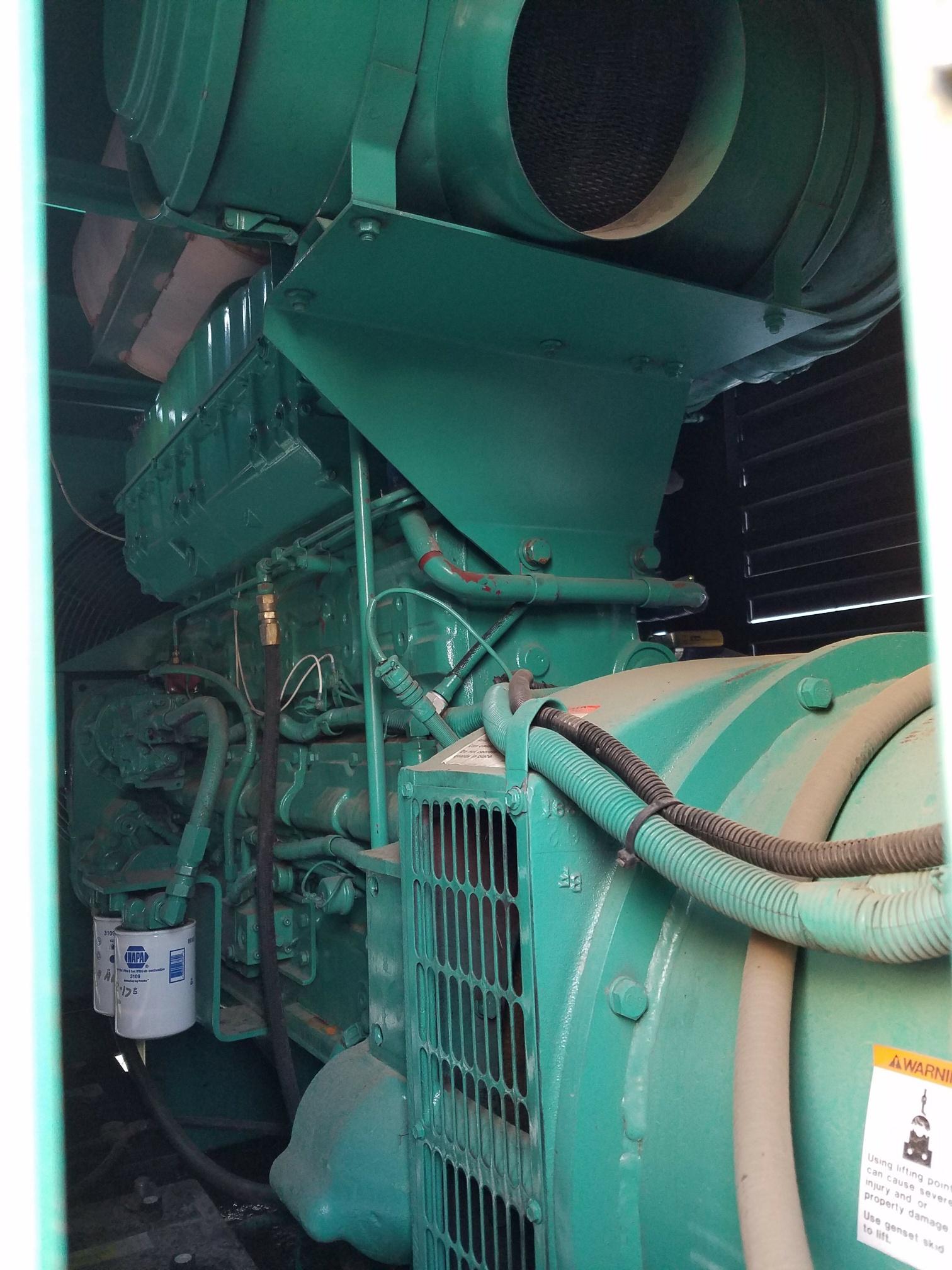 Unit 88 an Cummins 350kW Standby Diesel Generator 277 480v 3