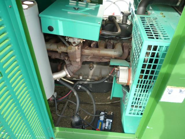 Unit #99 - Onan Cummins 35kW 35GGFB Standby Natural Gas Generator Ford  Engine 120/240v 1 Single Phase